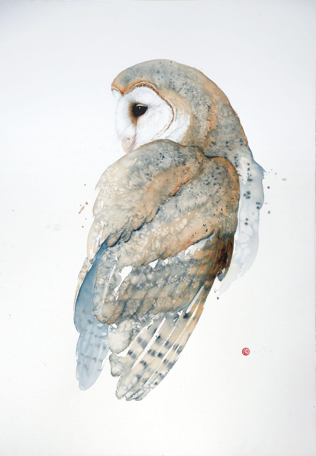 Karl Martens, Barn Owl (Unframed)