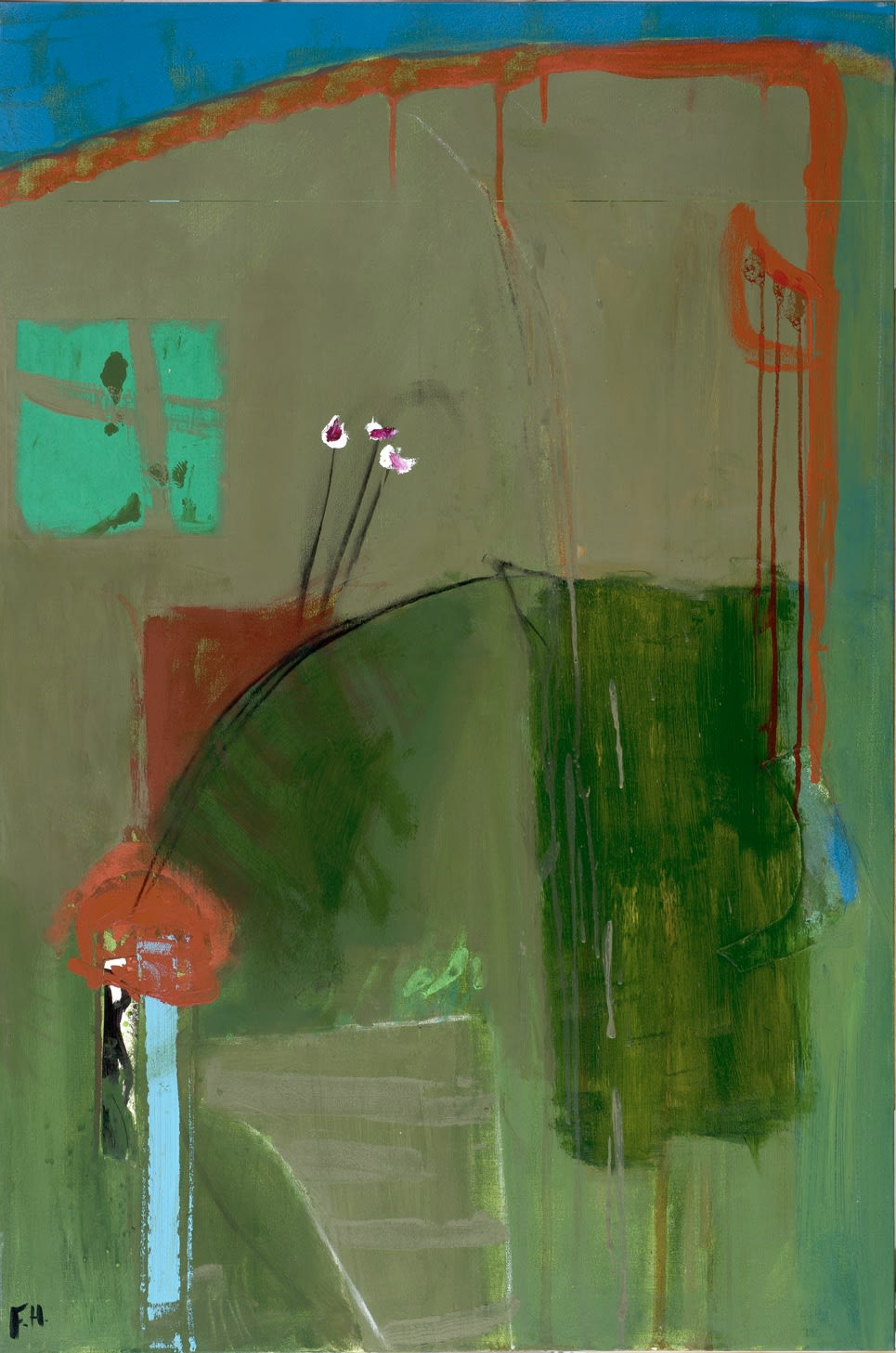 Felice Hodges, Olive at Night