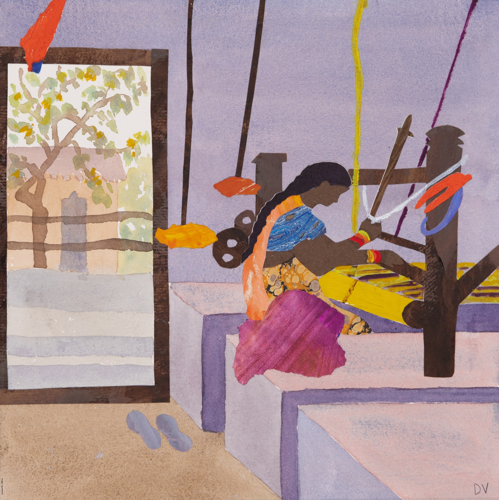 Dione Verulam, At the Loom