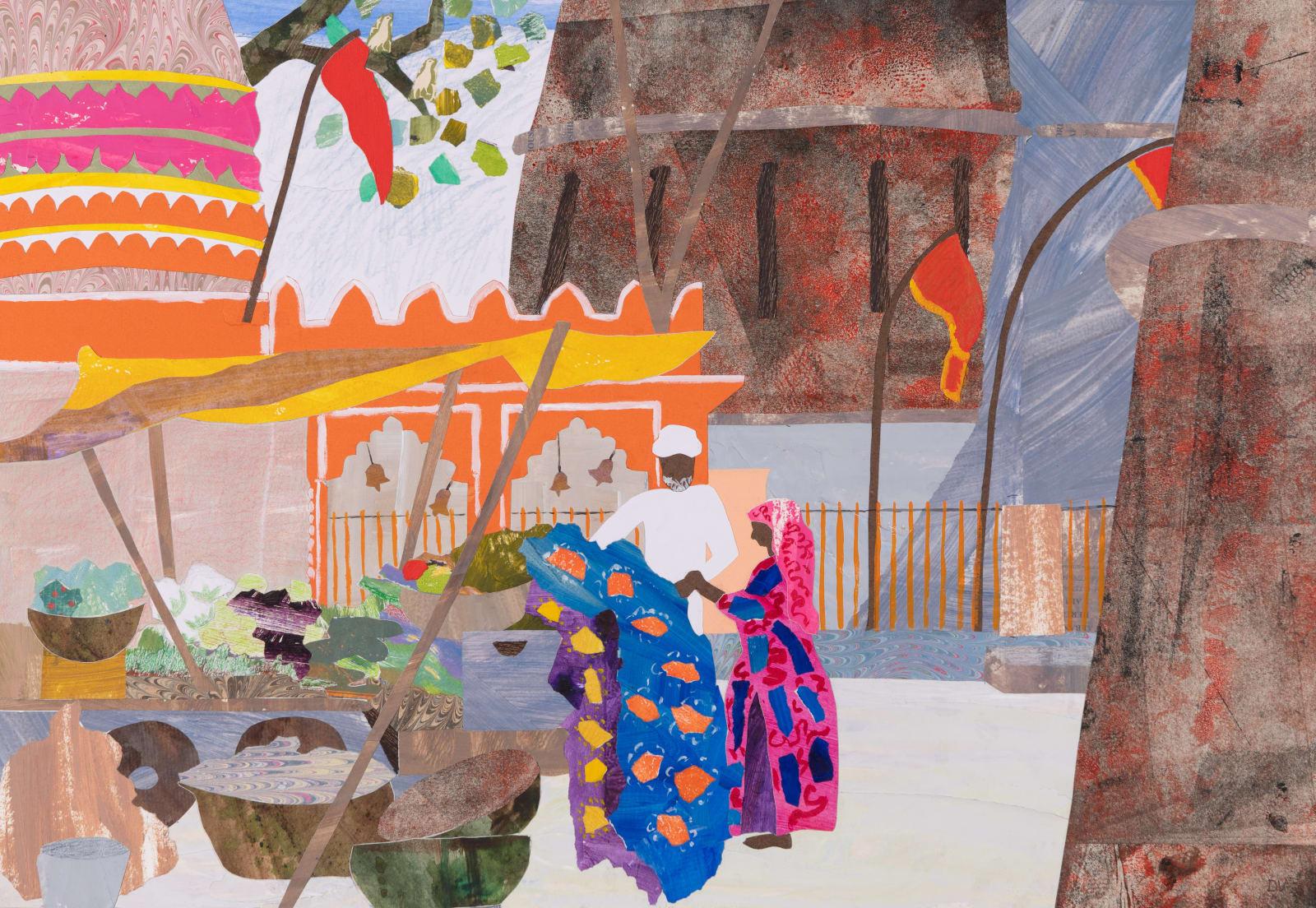Dione Verulam, Selling Saris