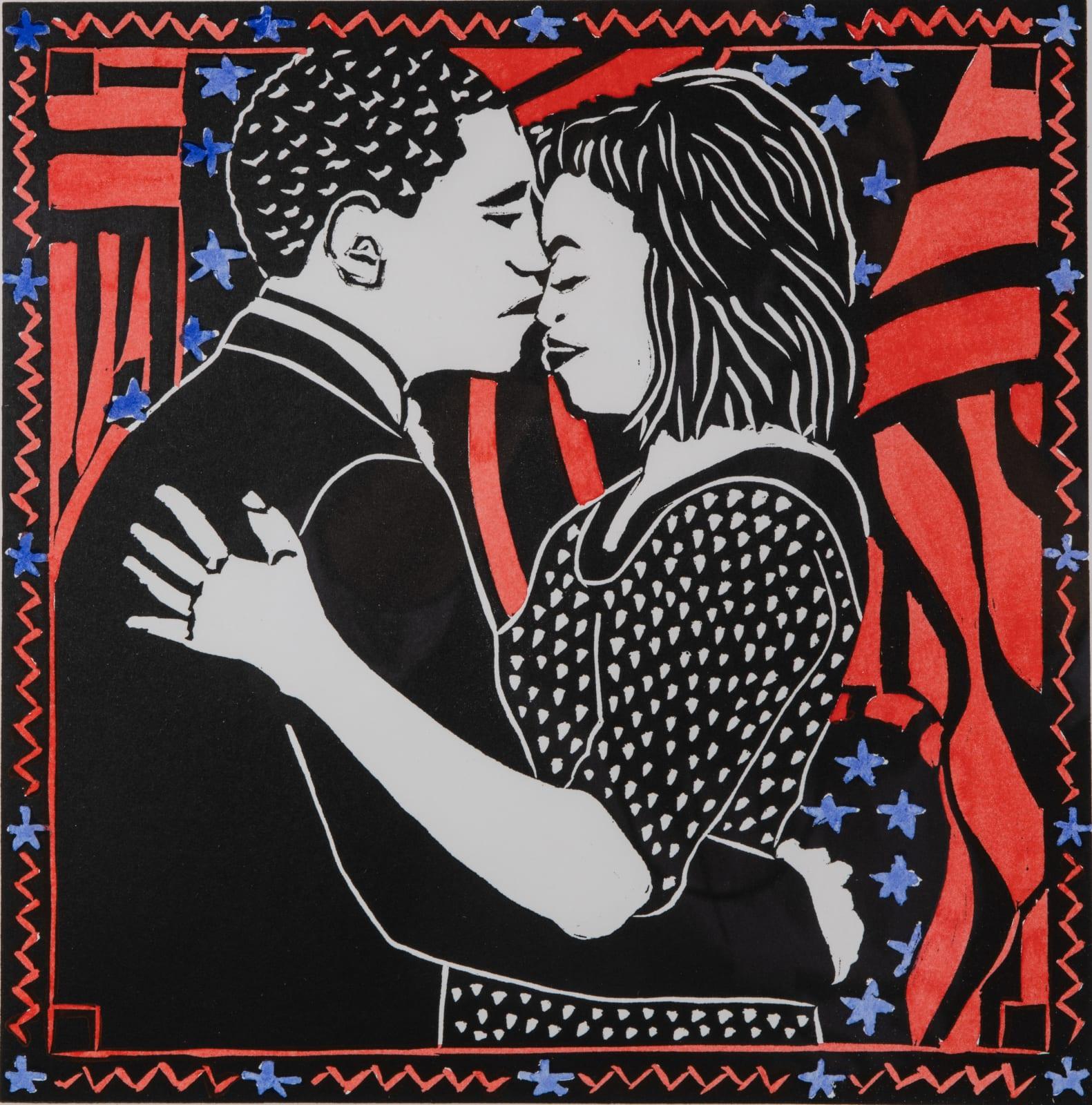 Dione Verulam, The Obama Kiss