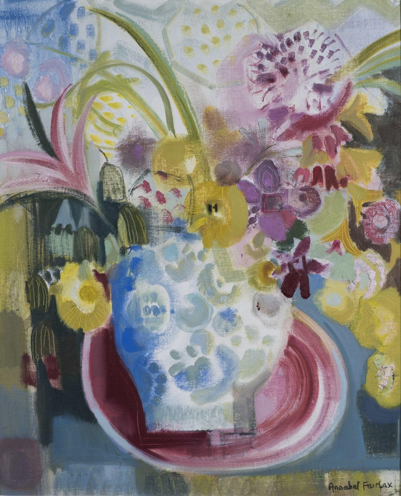 Annabel Fairfax, Urn and Oval Platter