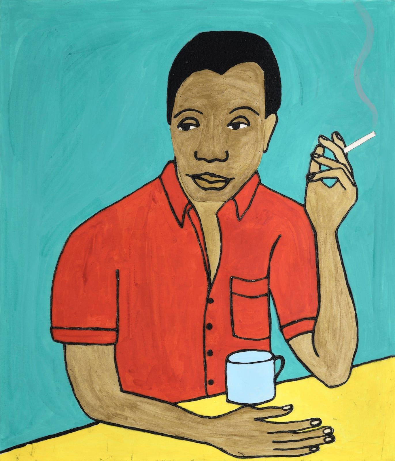 Kate Boxer, James Baldwin