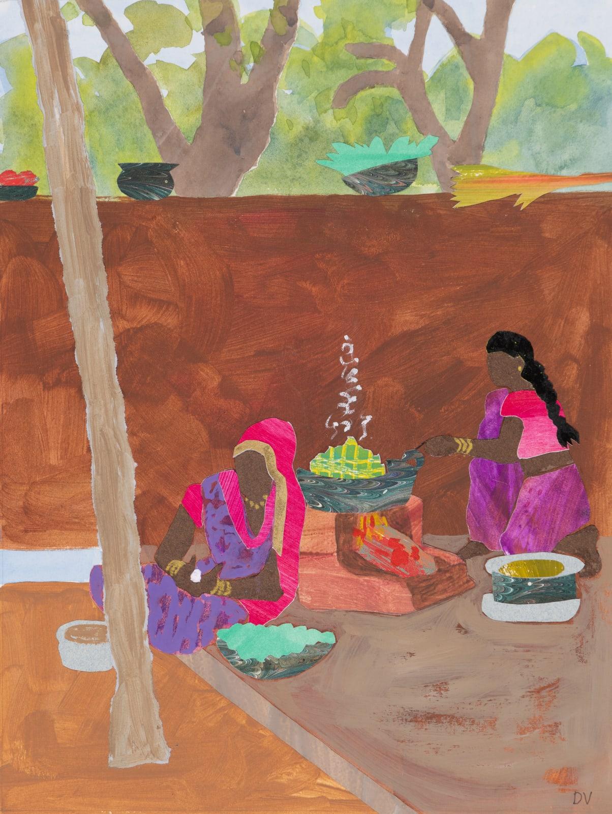 Dione Verulam, Jungle Cooking