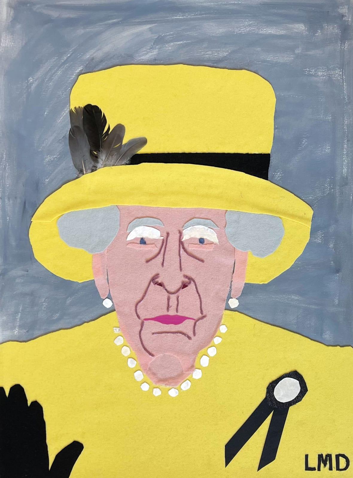 Lucy Dickens, The Queen in Custard Yellow