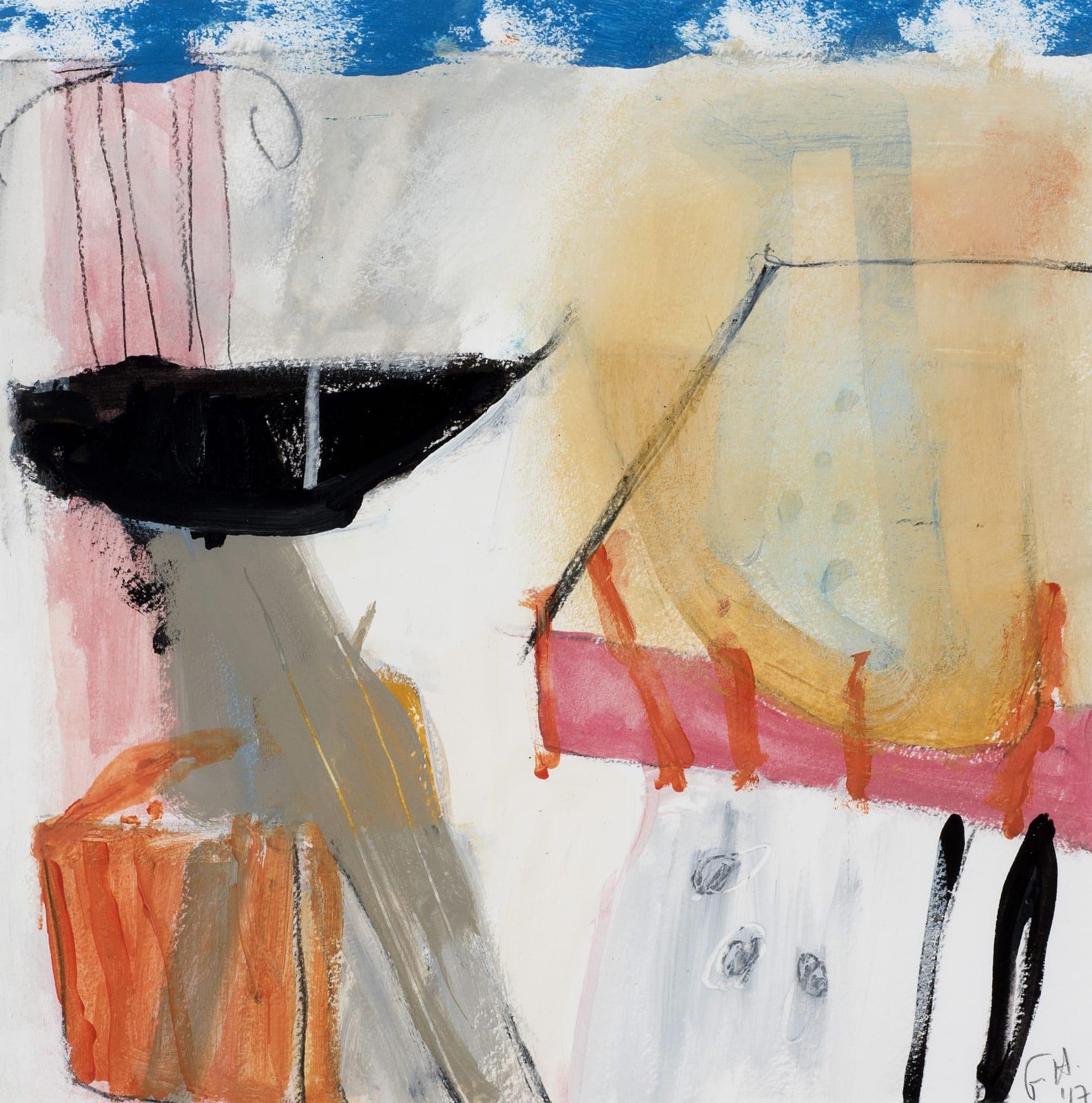 Felice Hodges, Landscape with Pink Column