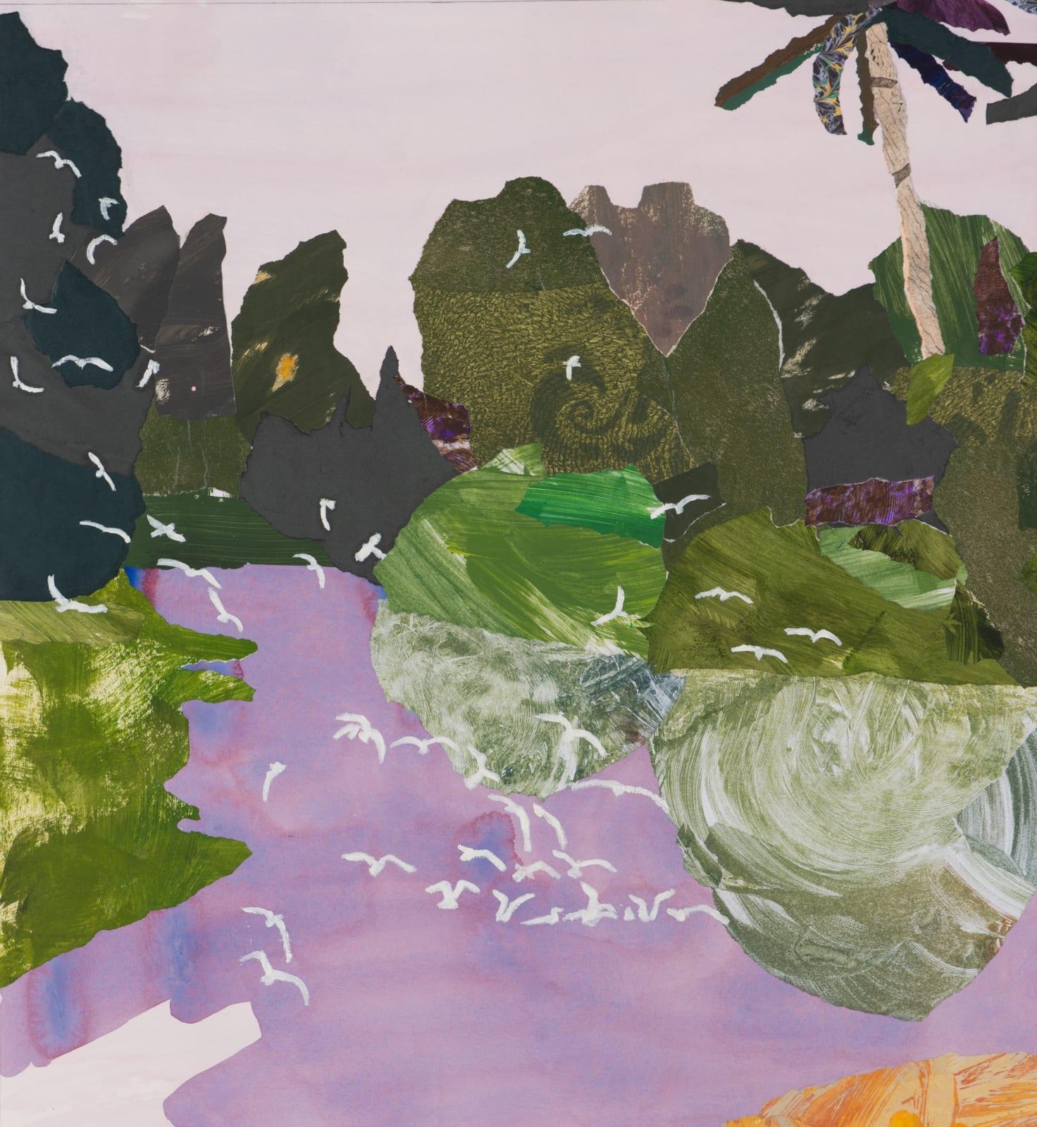 Dione Verulam, The Lagoon, Egrets at Dawn