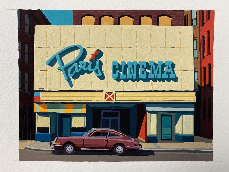 Andy Burgess, Paris Cinema, Worcester, Mass, 2020
