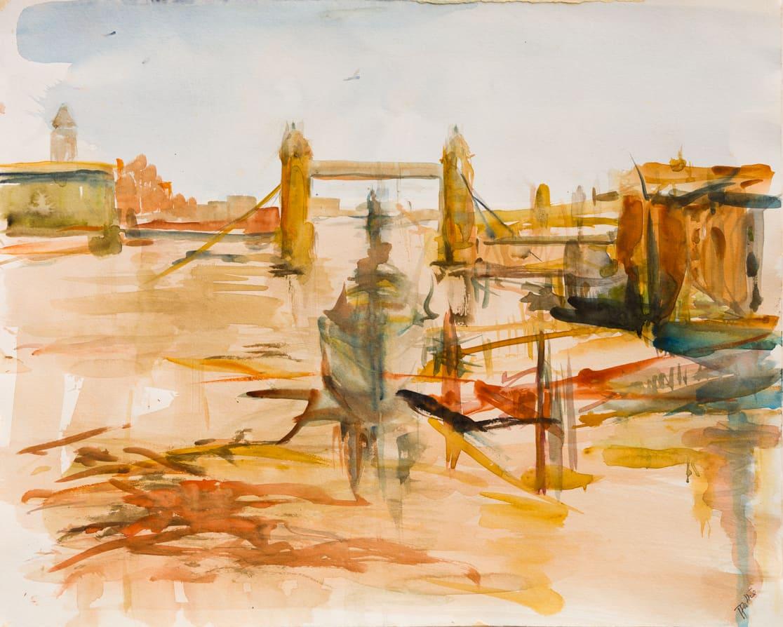 Tuëma Pattie, Tower Bridge - London, 1963