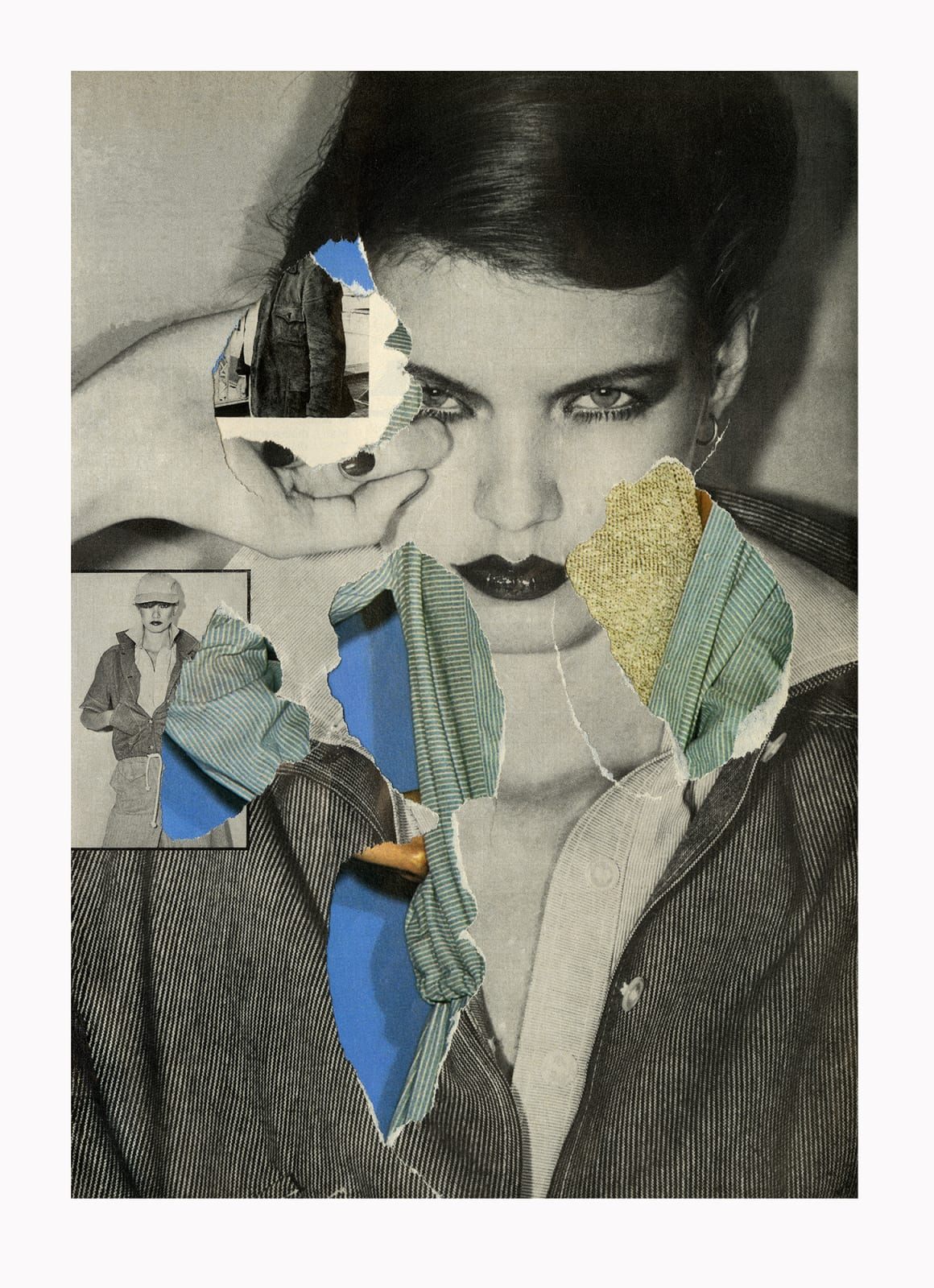 Ehryn Torrell, Secondary Collage 1977/2017 [02], 2017