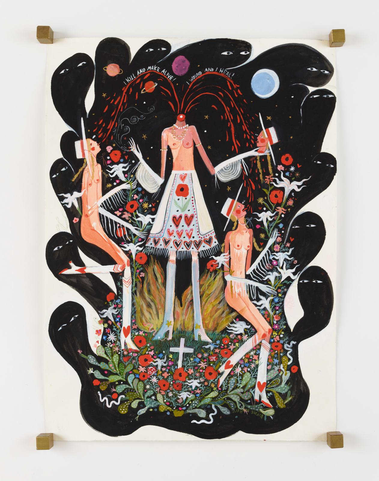 Birdie Hall, Kundalini Contradiction Cowgirls, 2020