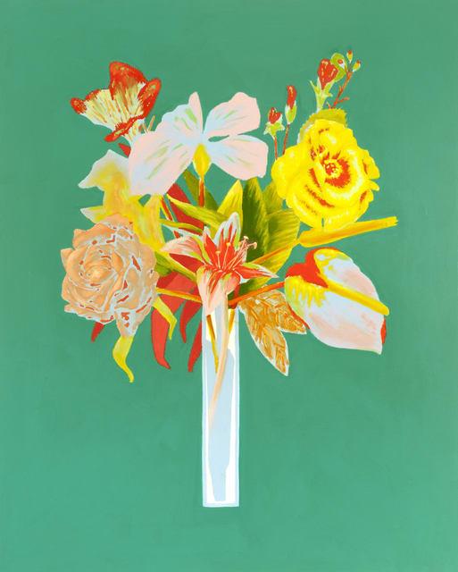 Roland Reiss, Unrepentant Flowers: Lean Green, 2016