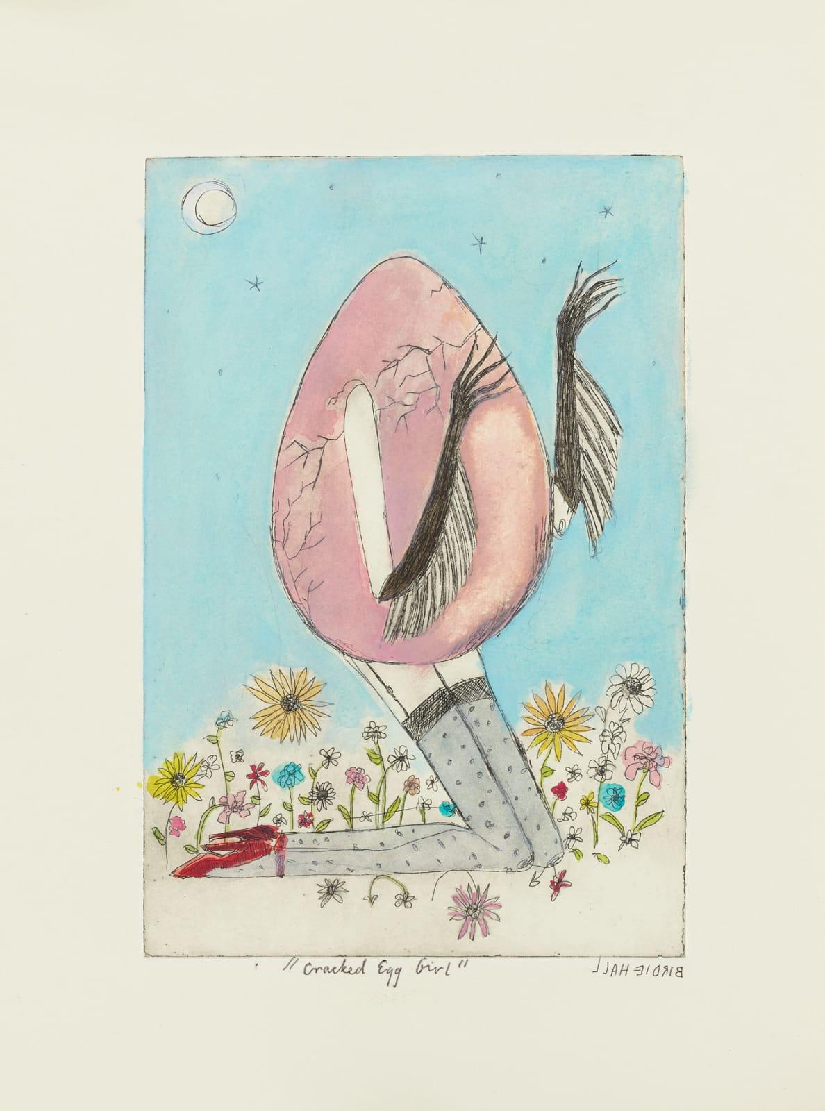 Birdie Hall, Cracked Egg Girl , 2020