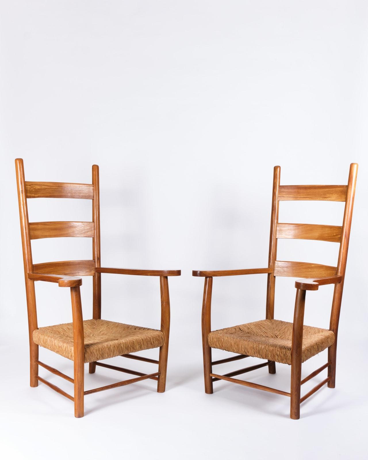 Paolo Buffa, Pair of armchairs