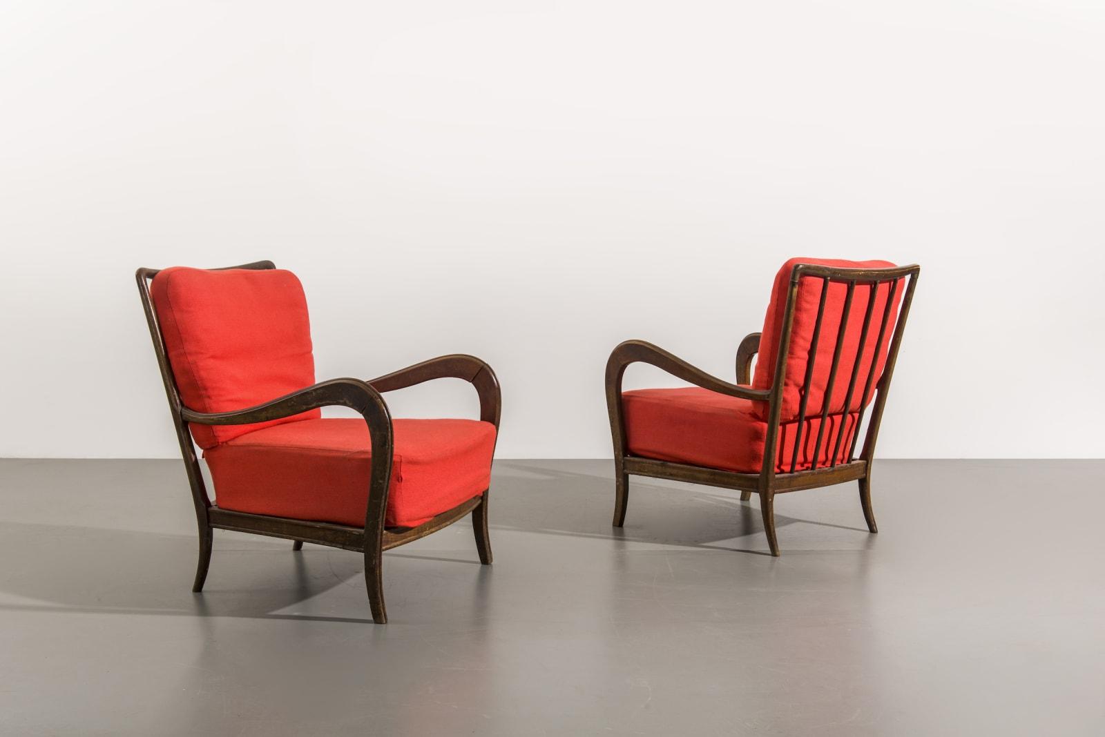 Italian, Pair of armchairs