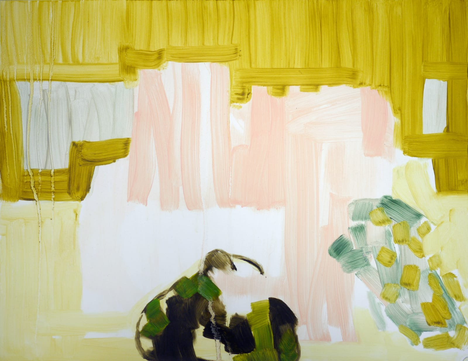 Elizabeth Schwaiger, Yellow Pink and Gold, 2014