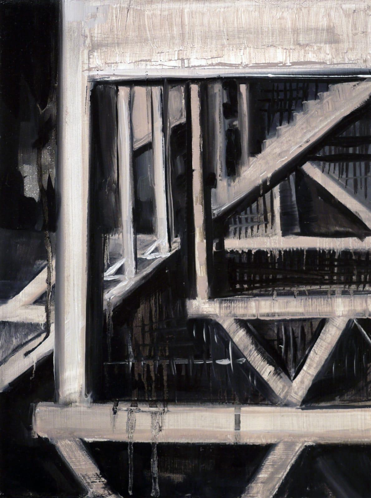 Elizabeth Schwaiger, Scaffolding II, 2015