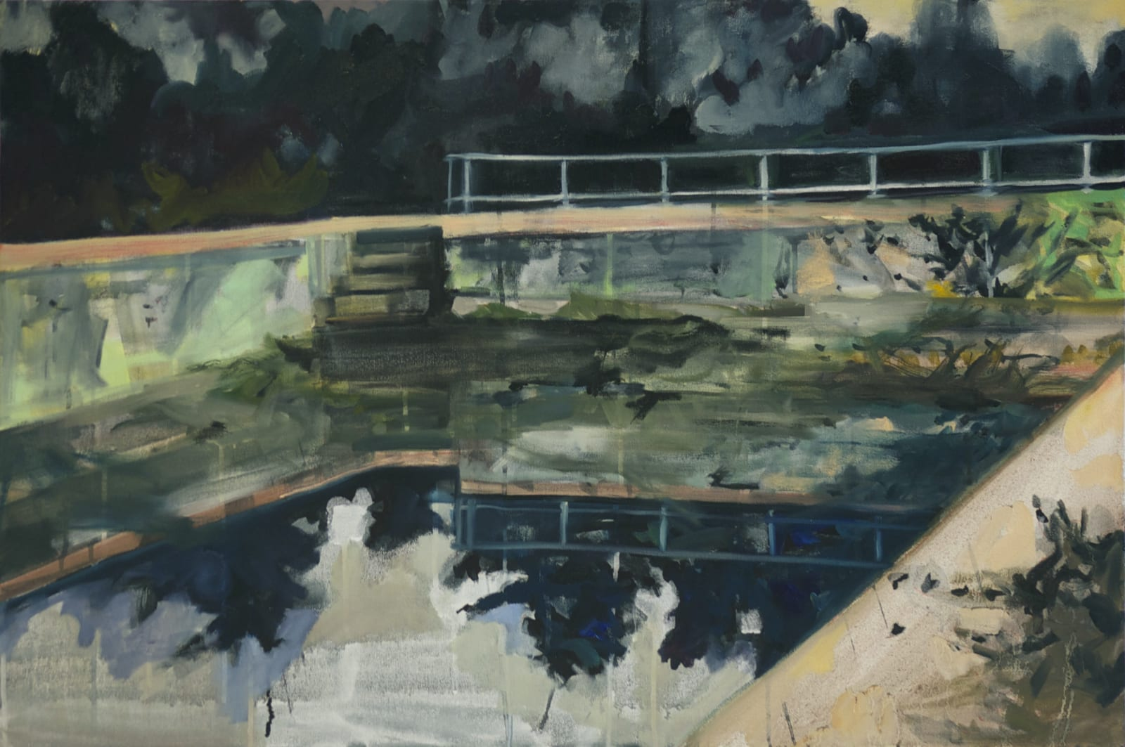 Elizabeth Schwaiger, Reflecting Pool, 2016