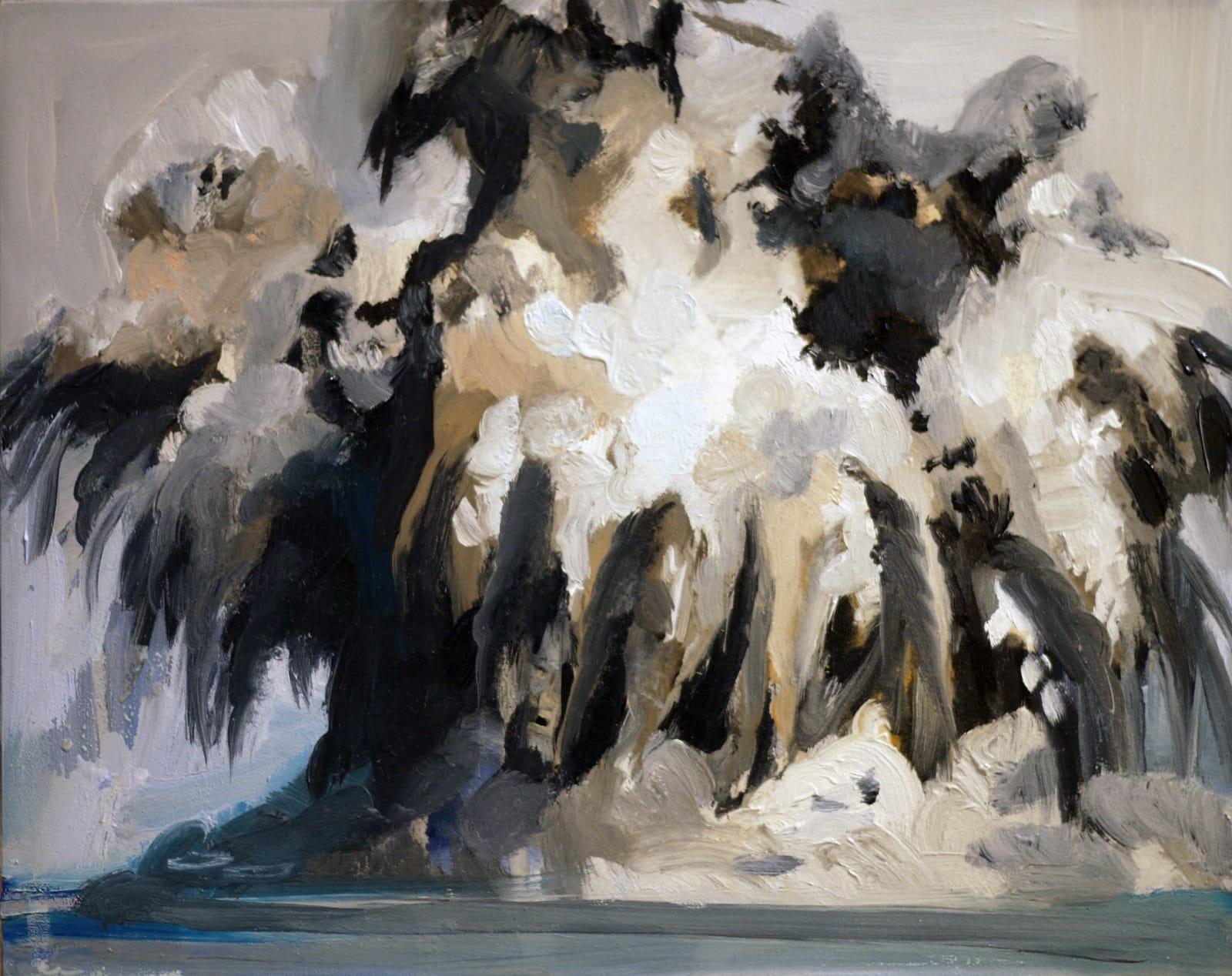Elizabeth Schwaiger, Smoke and Water Explosion , 2014