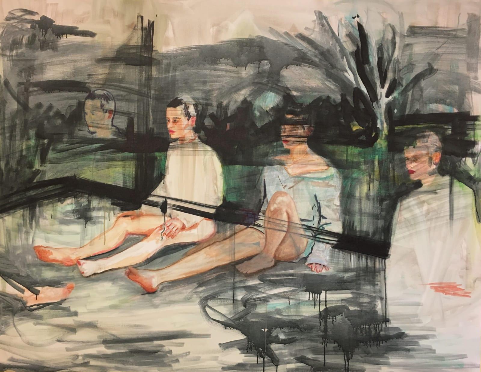 Elizabeth Schwaiger, Restless Legs, 2017