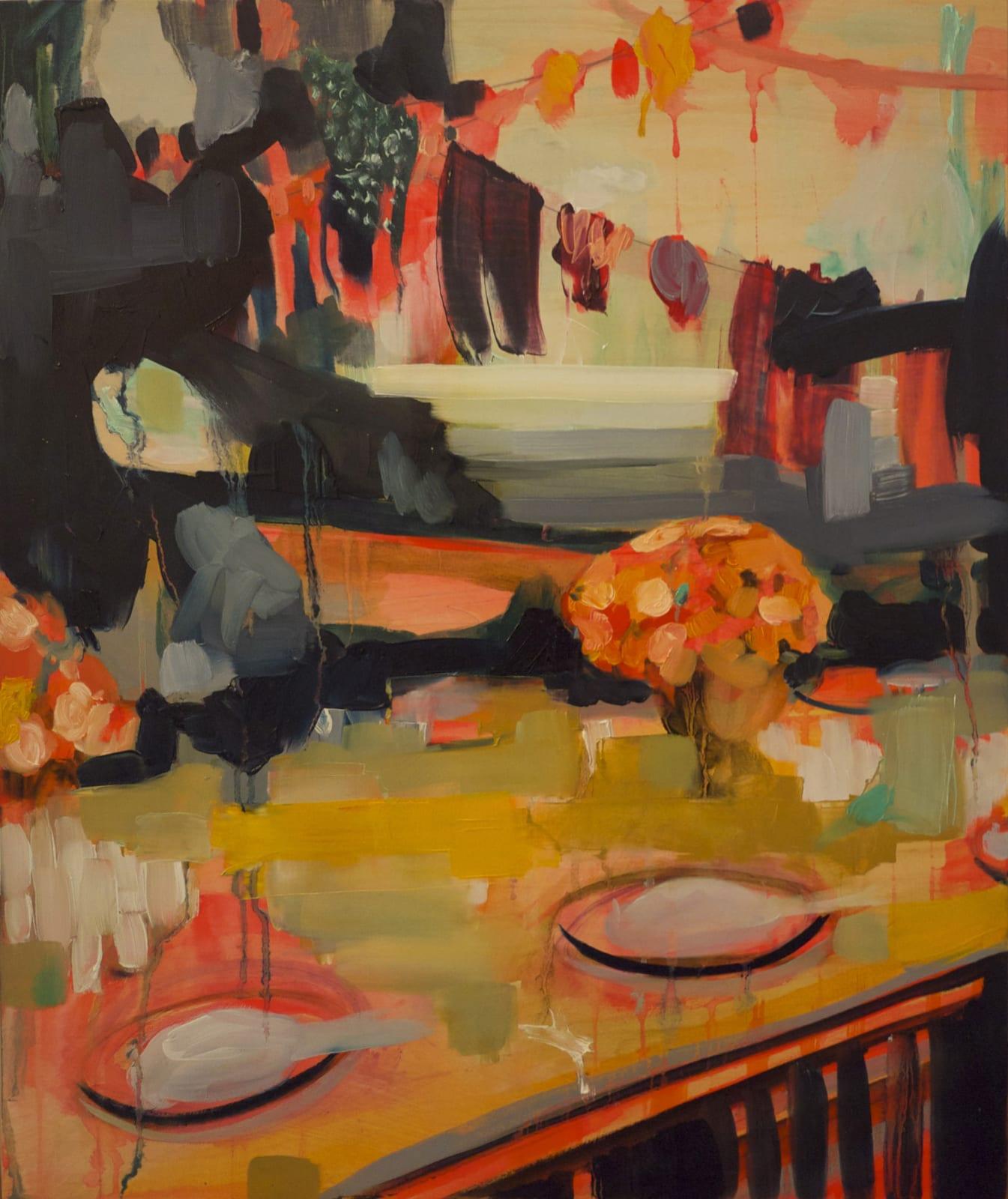 Elizabeth Schwaiger, Dinner Diner III, 2012