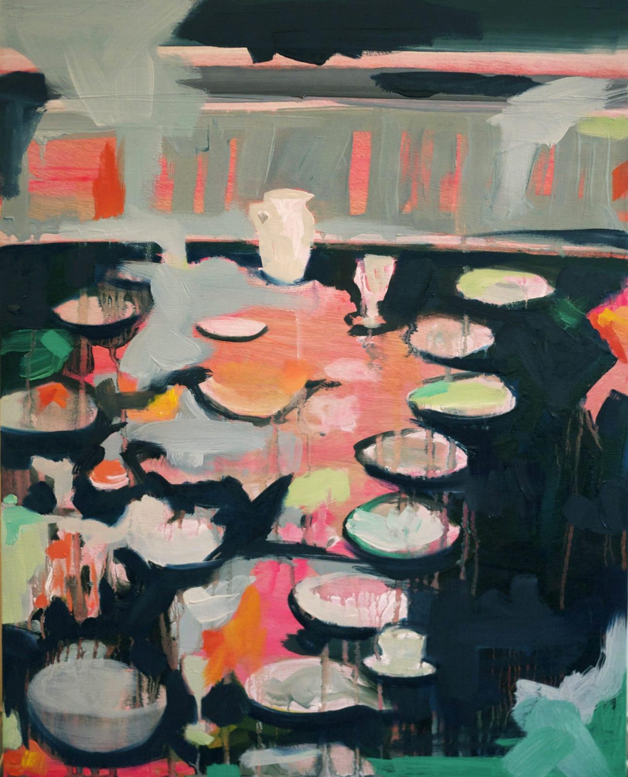 Elizabeth Schwaiger, Dinner Diner II, 2012