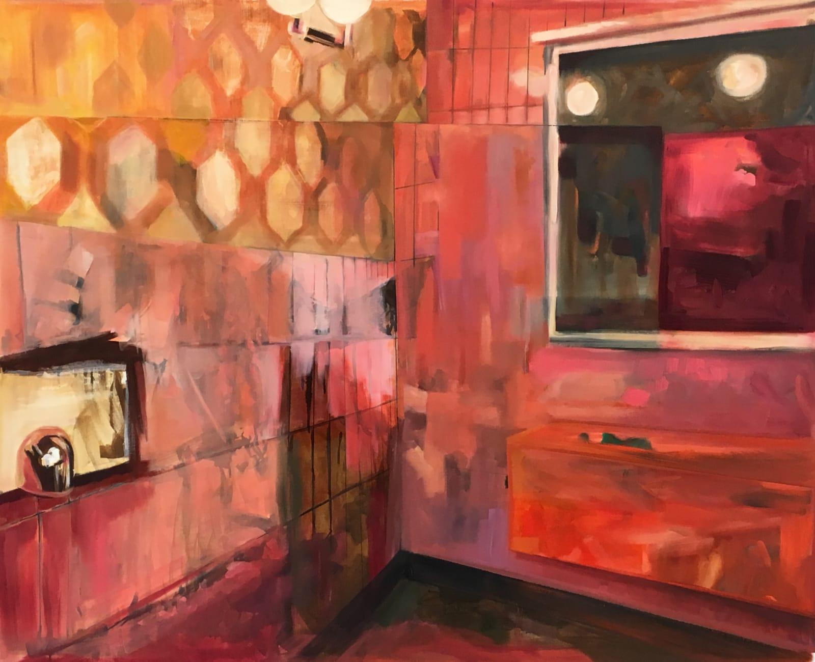 Elizabeth Schwaiger, Pink Tiles, 2016