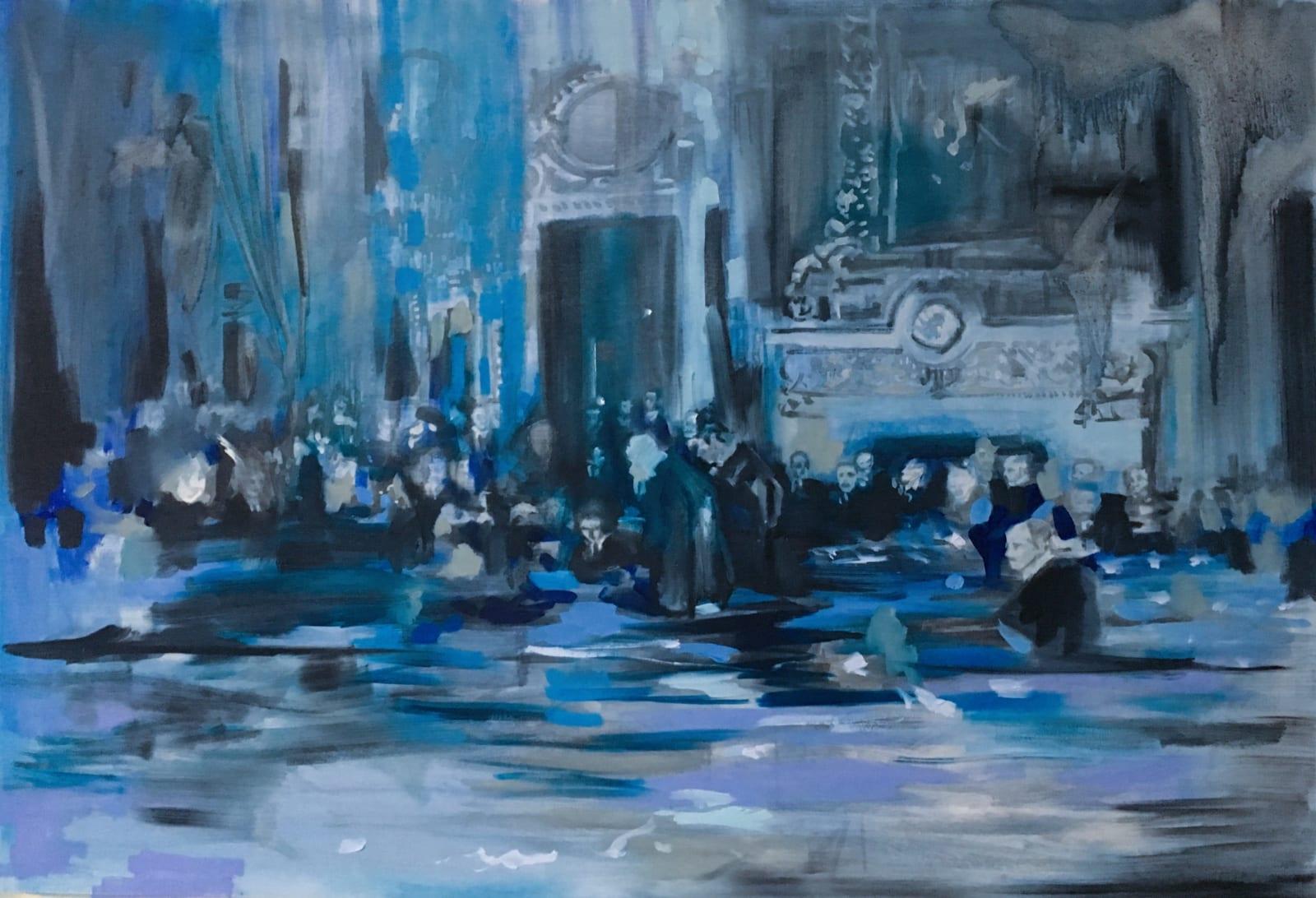 Elizabeth Schwaiger, Blue Tide, 2019