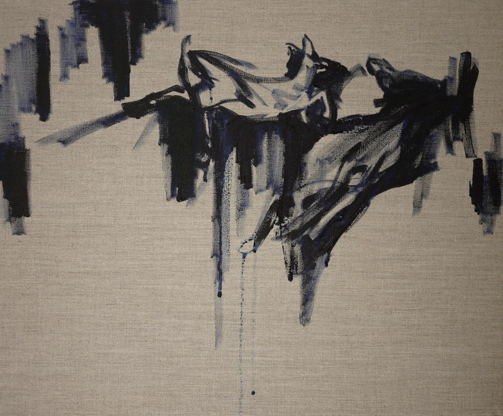 Elizabeth Schwaiger, Blue Deer Jump, 2013