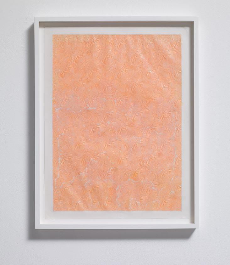 ANNA BARRIBALL, Window (yellow and pink), 2018