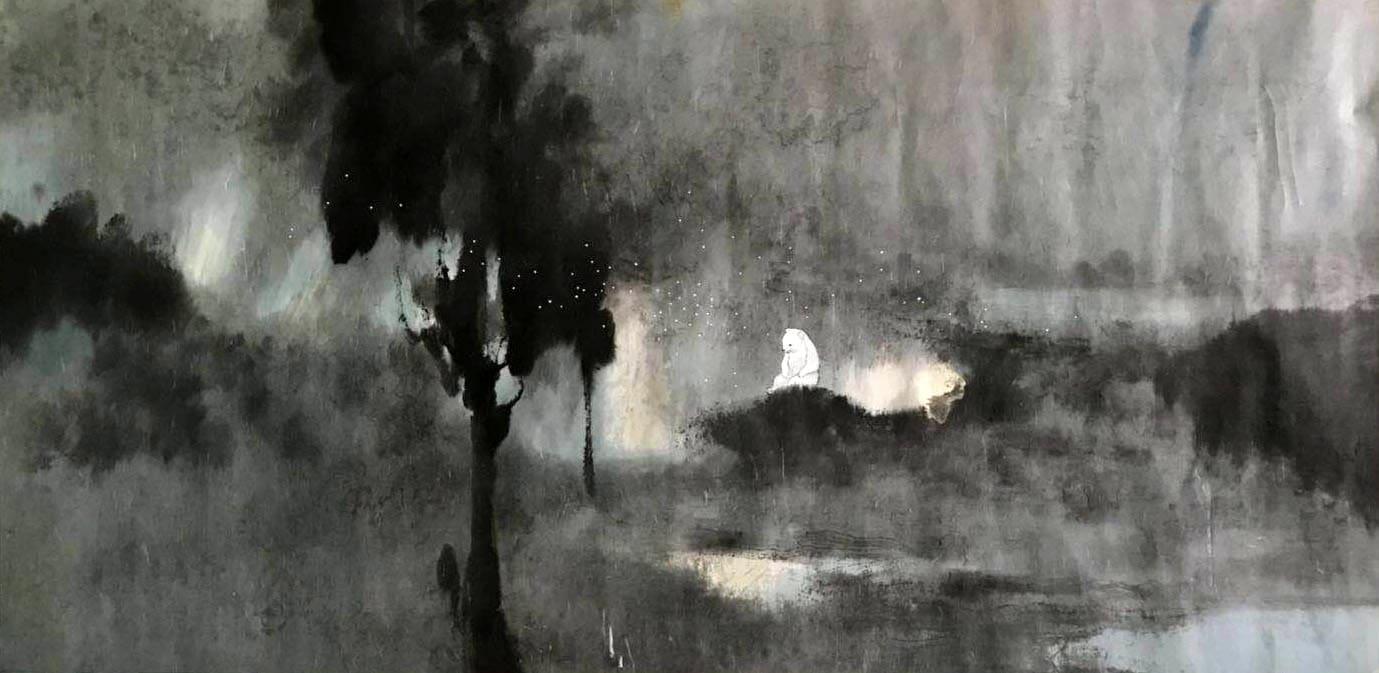 Lin Yusi 林于思, Winter on Fire 冰瑩火, 2013