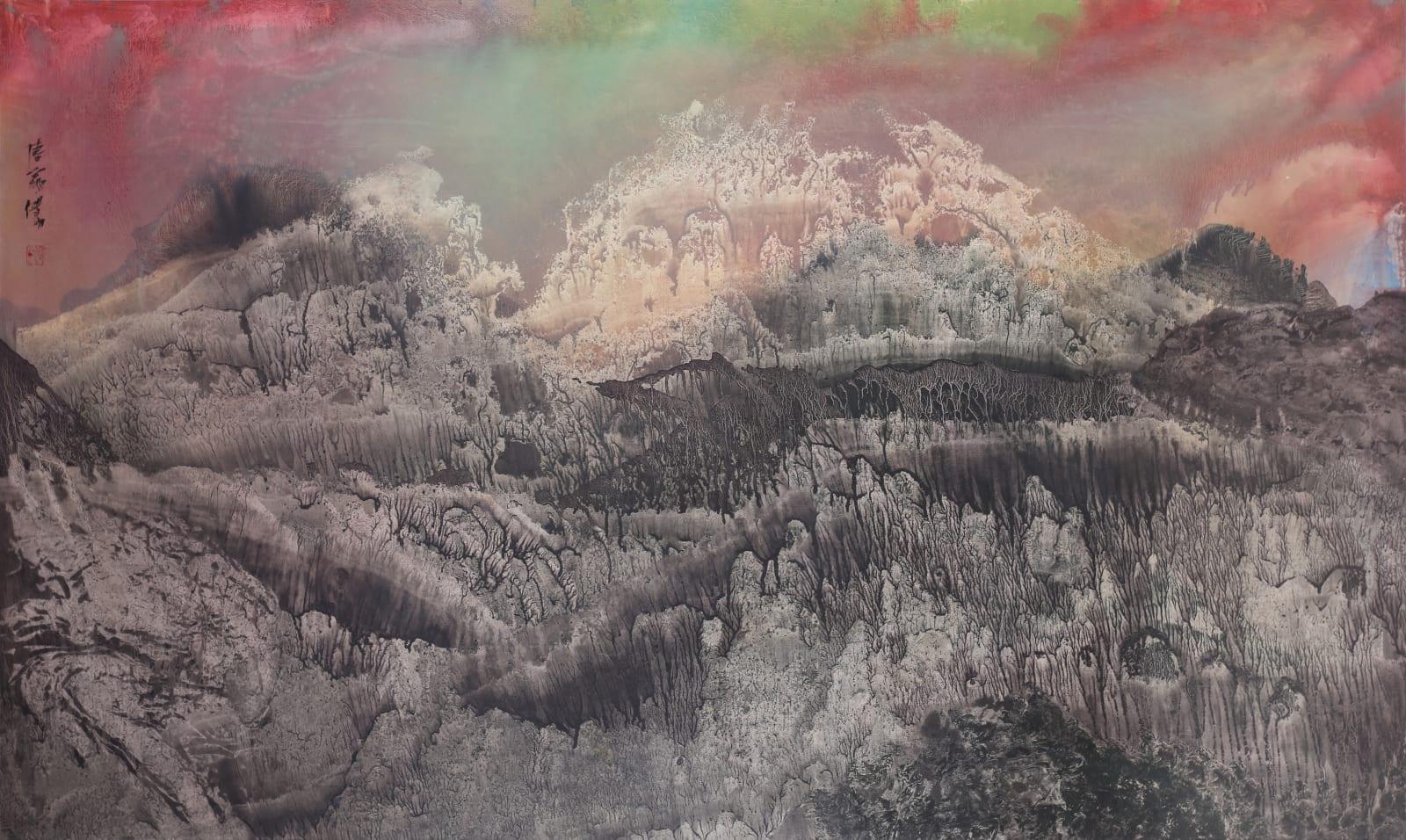 Wesley Tongson 唐家偉, Mountains of Heaven 天界 No. 366 (Longevity as Sumeru 須彌福壽), 1994