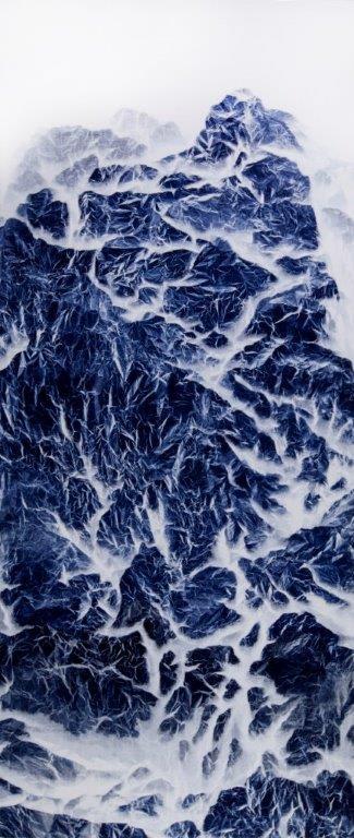 Wu Chi-Tsung 吳季璁, Cyano-Collage 025 氰山集之二十五, 2018