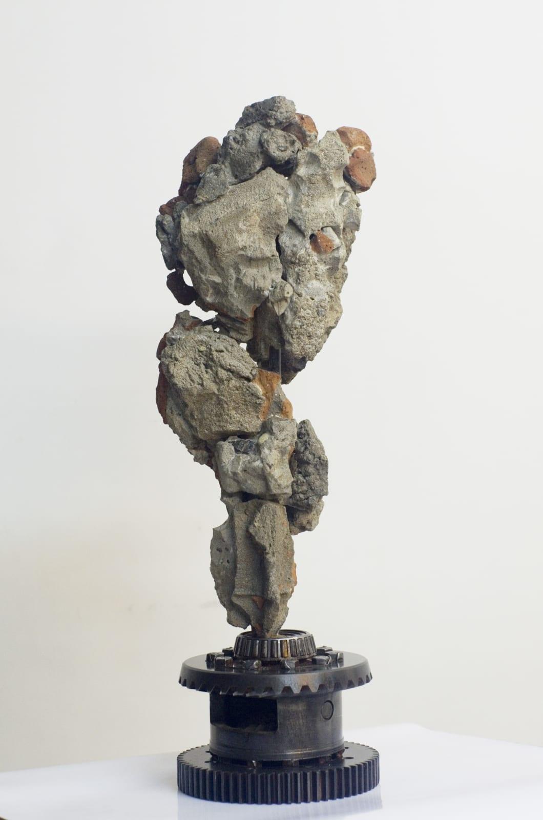 Shi Jinsong 史金淞, Qian Chuang Yuan 002 千創園叠石 002, 2012