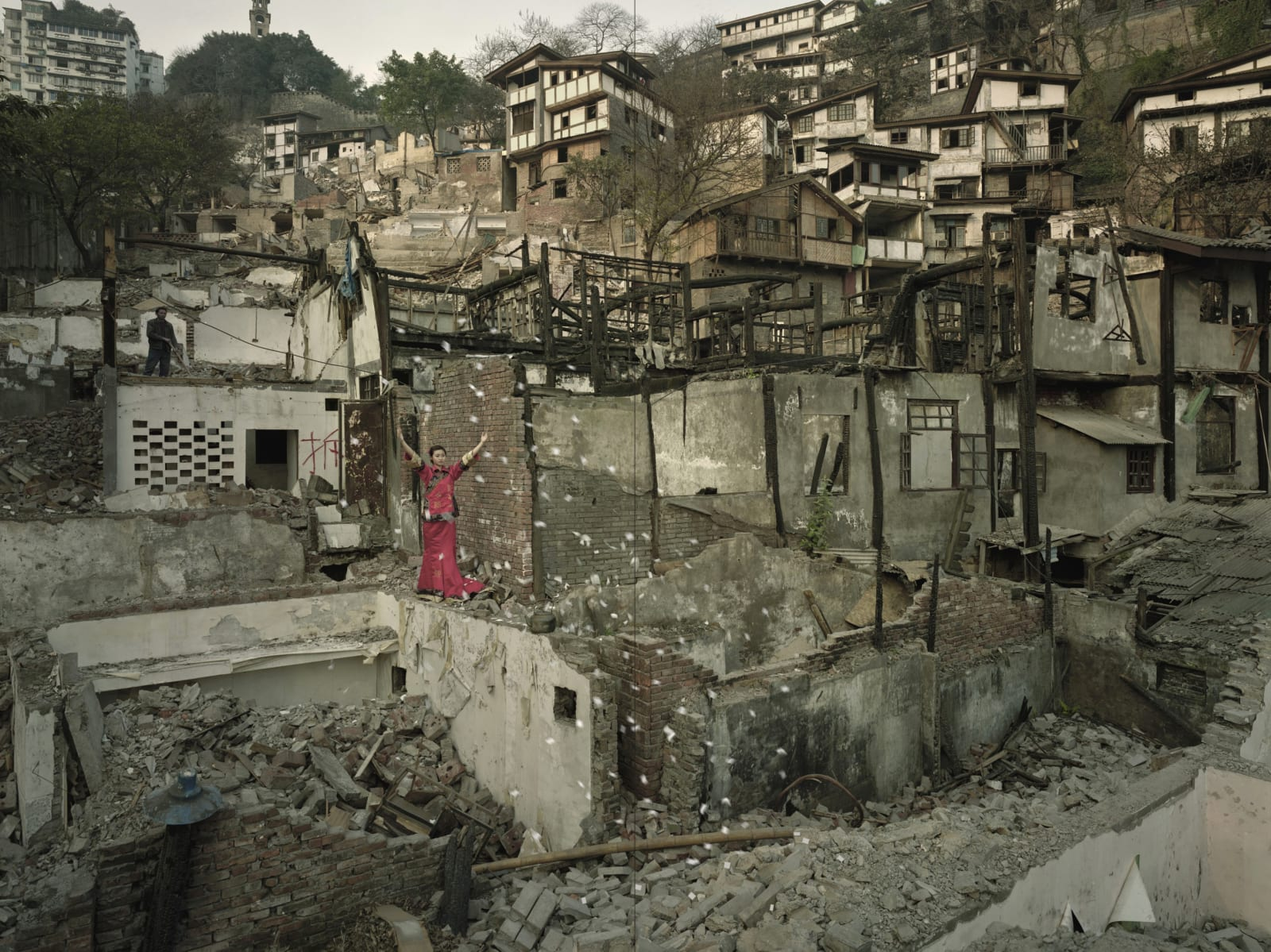 Qin Wen 秦文, Old City - Feng Po 故城系列之鳳坡, 2009