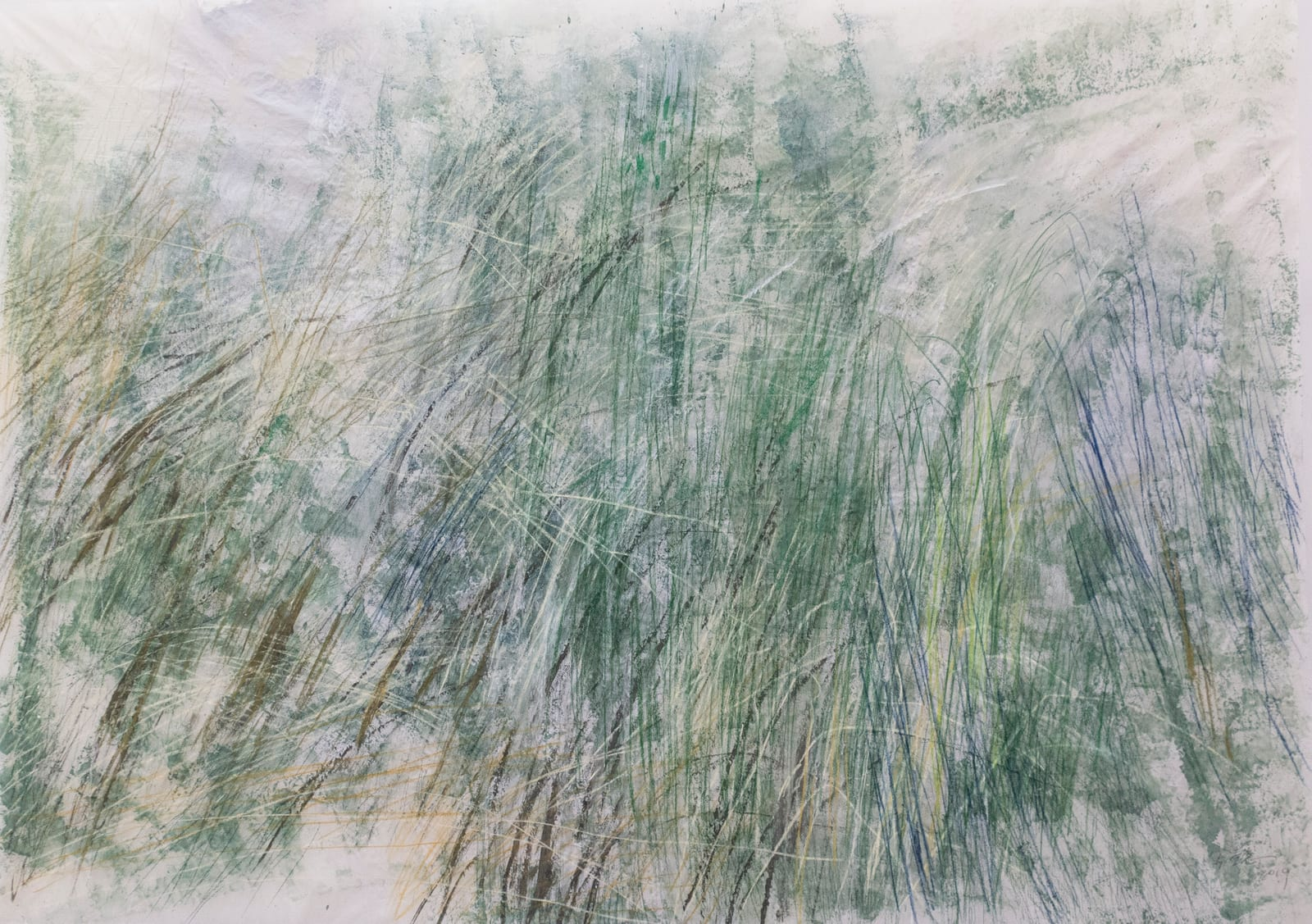 Wang Gongyi 王公懿, Leaves of Grass No.1 草葉集之一, 2019