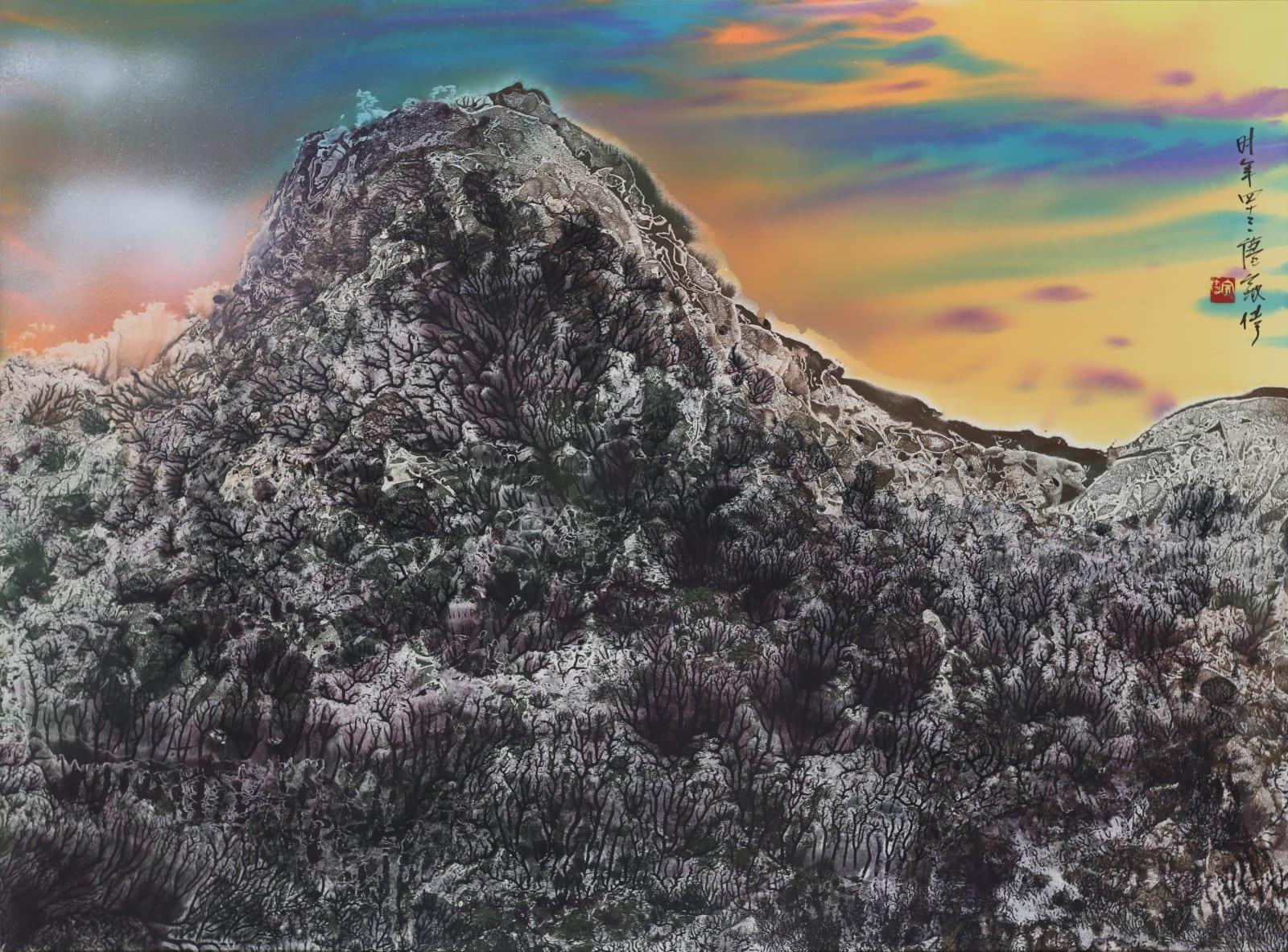 Wesley Tongson 唐家偉, Mountains of Heaven 天界 No. 140, 2000