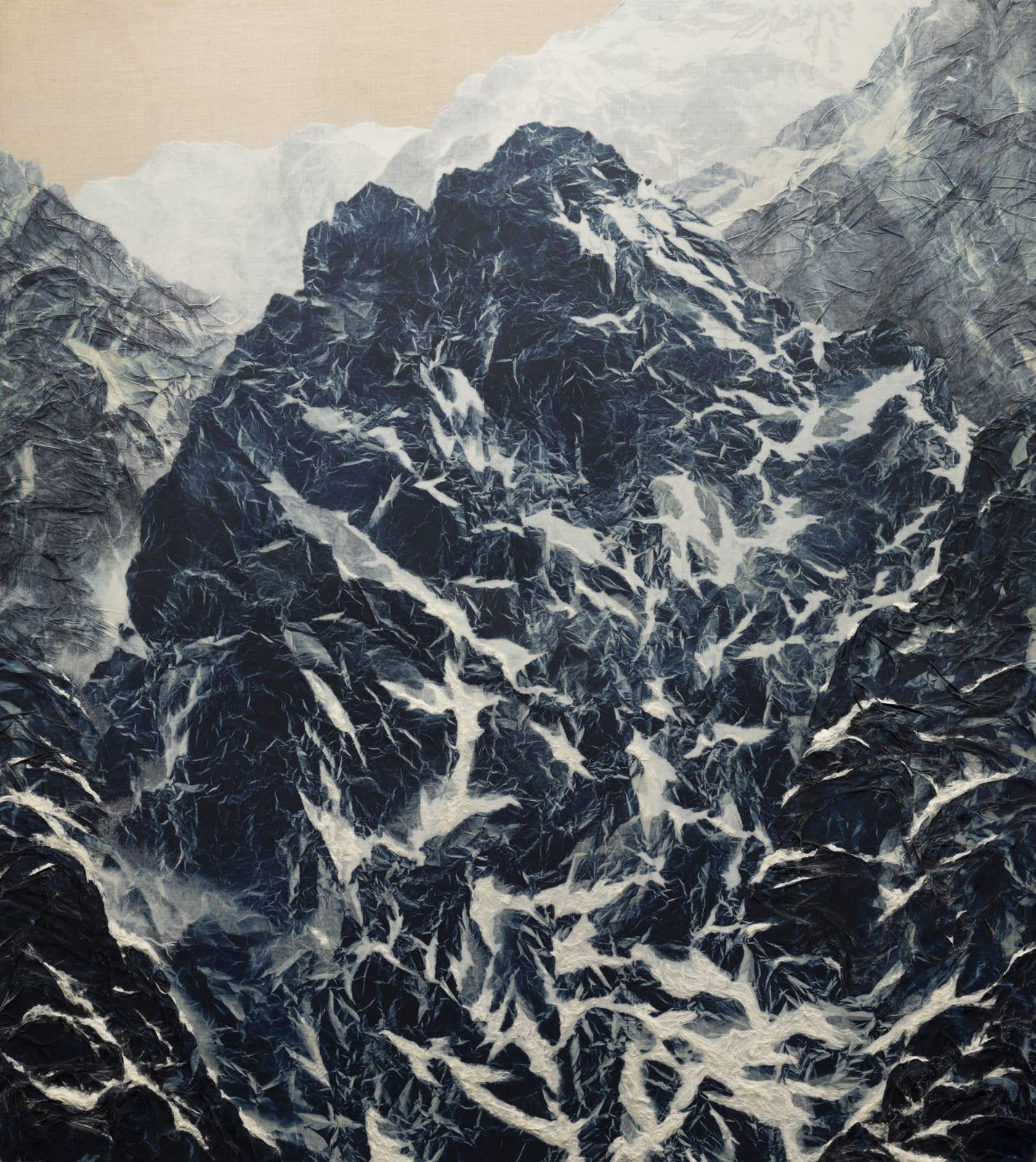 Wu Chi-Tsung 吳季璁, Cyano-Collage 083 氰山集之八十三, 2020