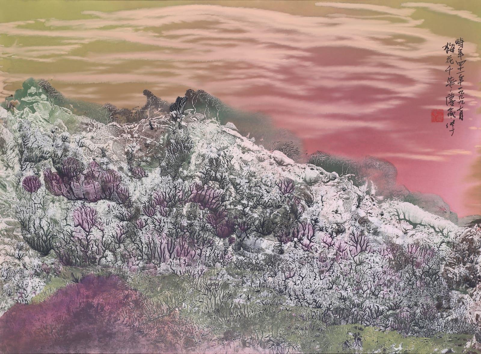 Wesley Tongson 唐家偉, Mountains of Heaven 天界 No. 273, 1999