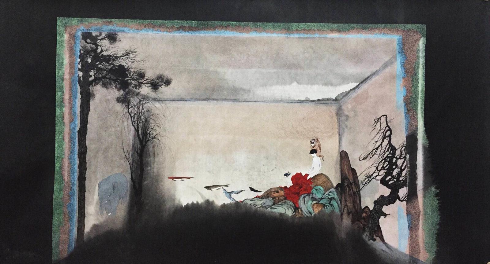 Lin Yusi 林于思, Red Cliff 紅岩, 2016
