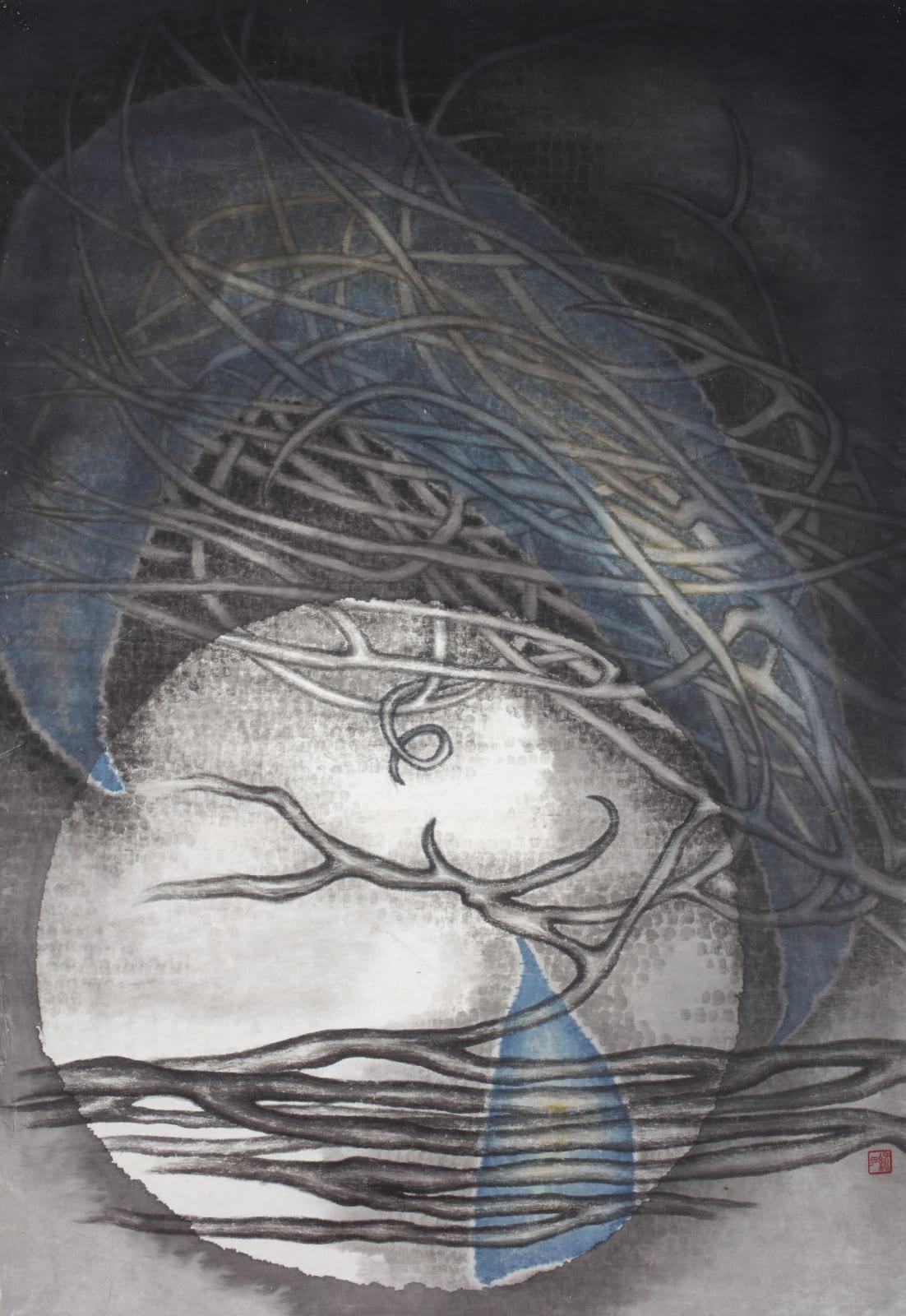 Chou Lu Yun, Irene 周綠雲, Tree 8 樹之八, 1970-1980