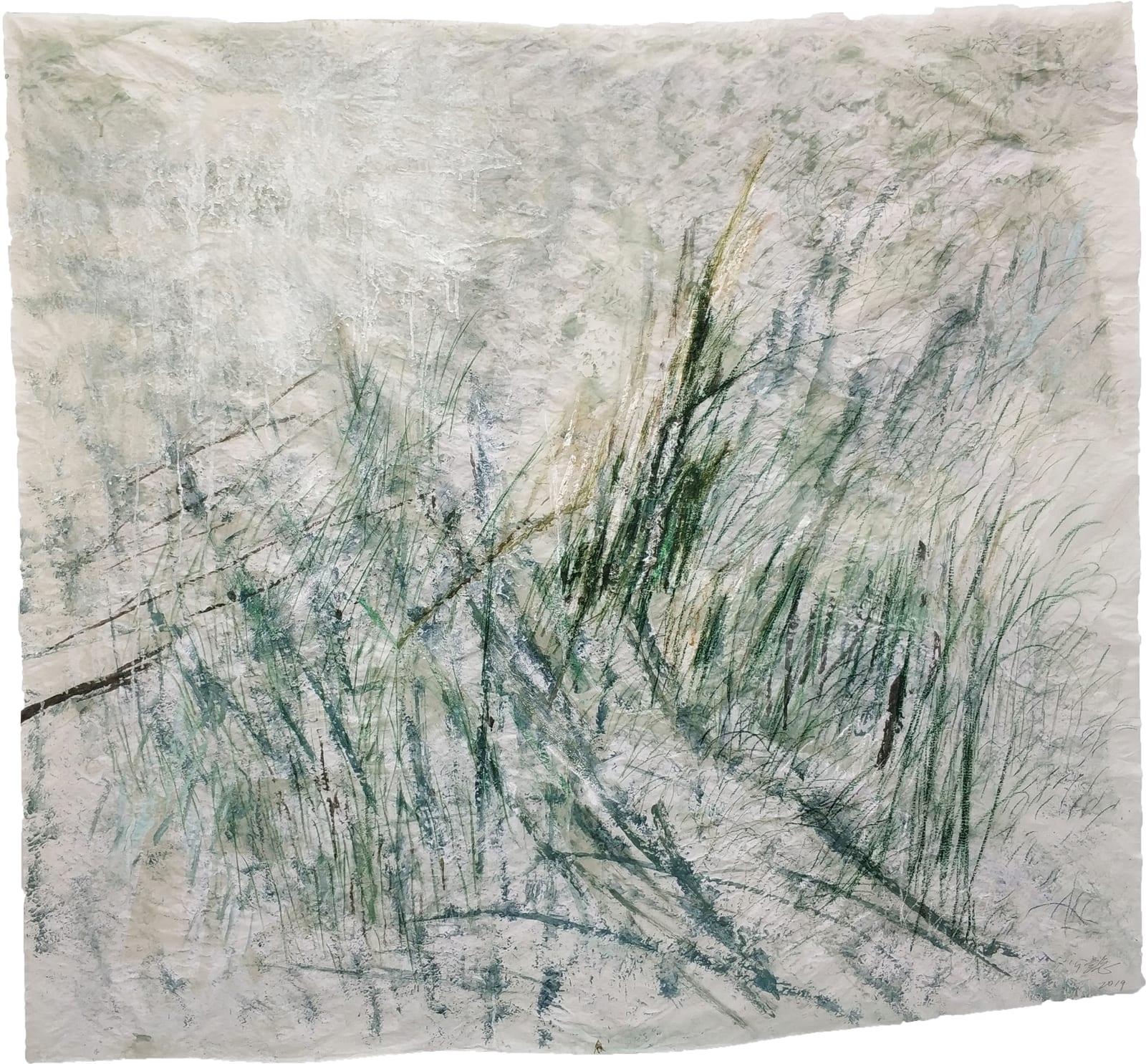 Wang Gongyi 王公懿, Leaves of Grass No.5 草葉集之五, 2019
