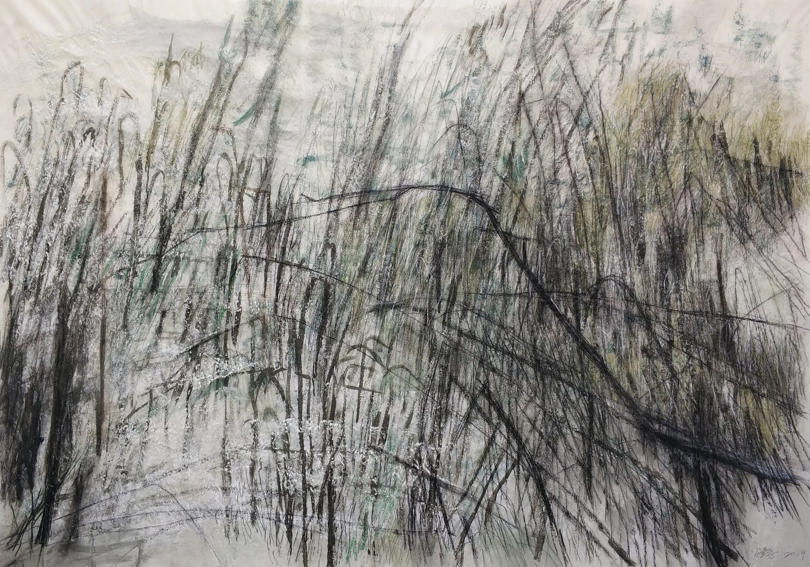 Wang Gongyi 王公懿, Leaves of Grass No.3 草葉集之三, 2019
