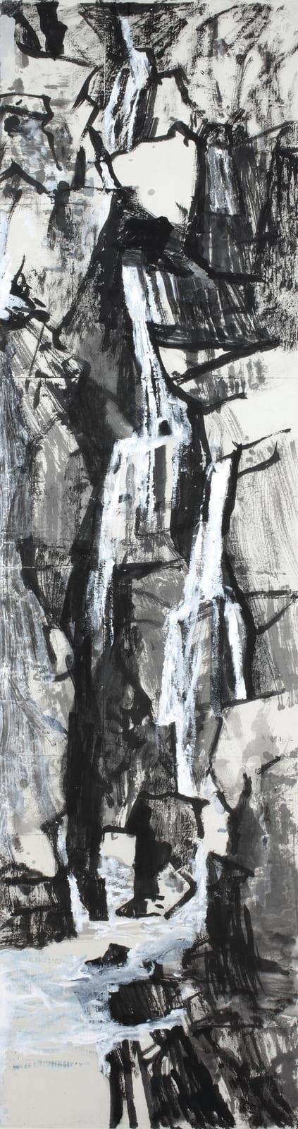 Wang Gongyi 王公懿, Landscape - Water, Rocks 水·石, 2018