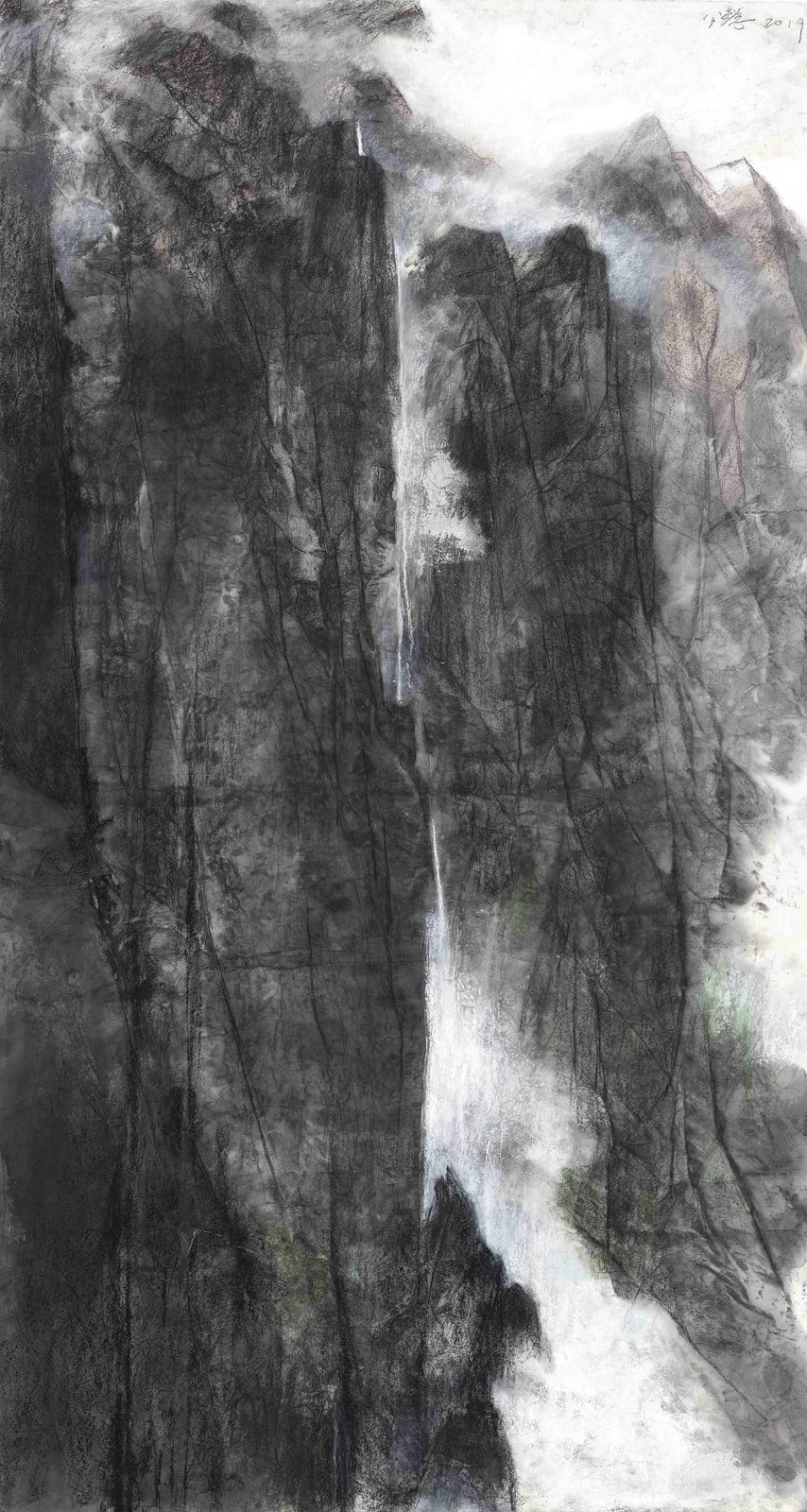 Wang Gongyi 王公懿, Follow the Creek No.1 緣溪行之一, 2019