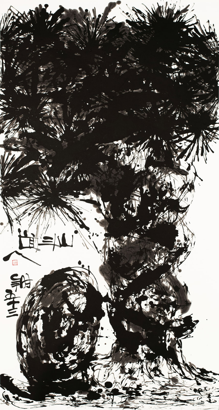 Wesley Tongson 唐家偉, Pine 松 No. 1123, 2010