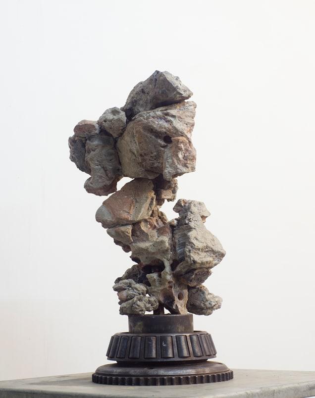 Shi Jinsong 史金淞, Qian Chuang Yuan 004 千創園叠石 004, 2012
