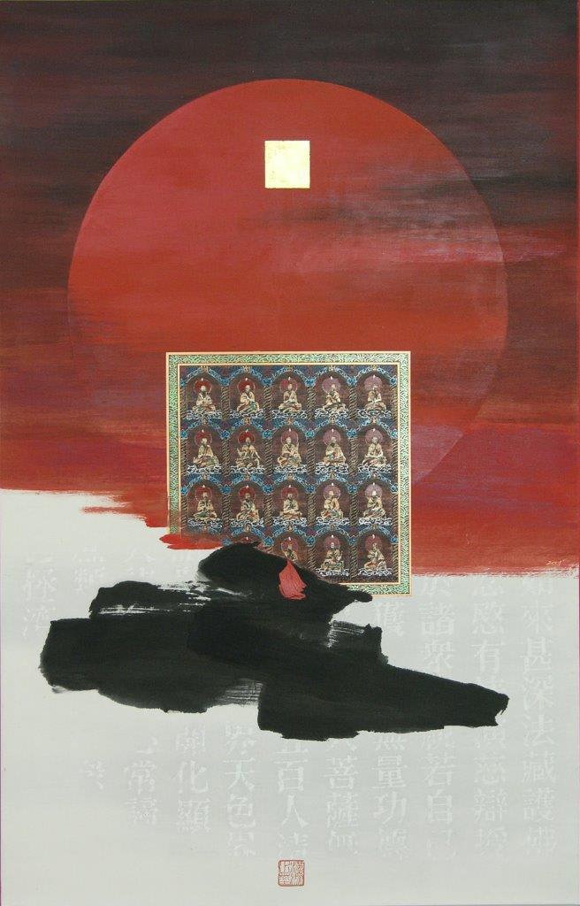 Kwok Hon Sum 郭漢深, White Tathagata 大日如來 , 2001