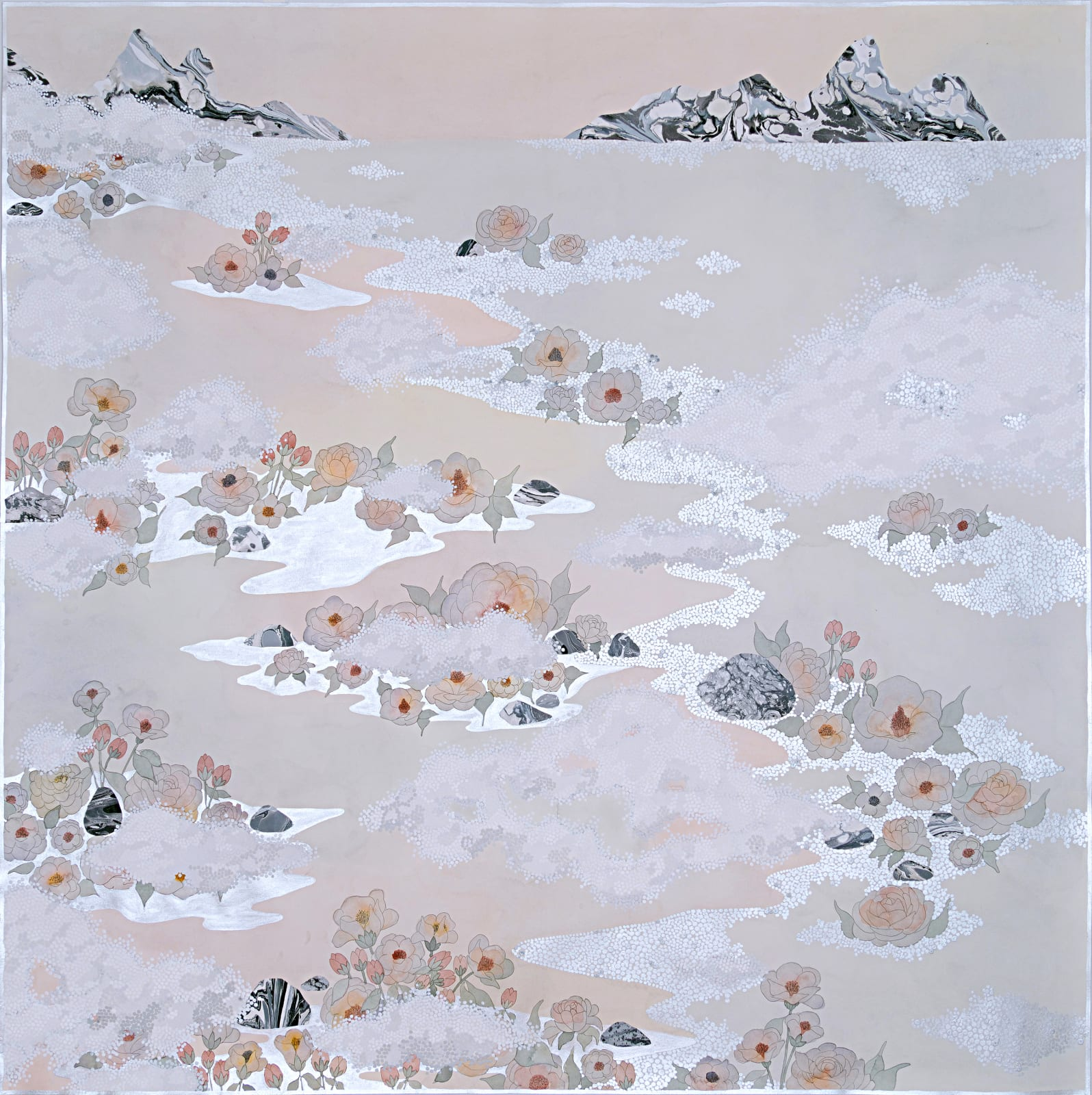 Crystal Liu, the fog, 'like the lulling waves', 2019