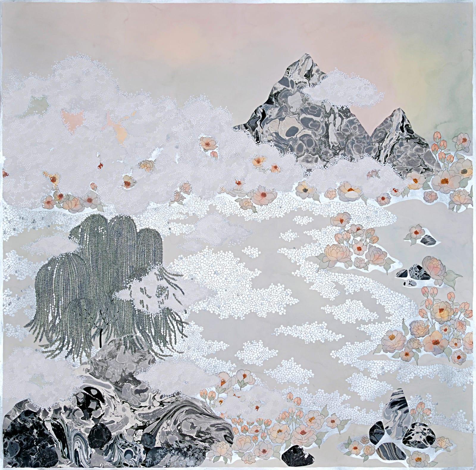 Crystal Liu, the fog, 'rolling in', 2019
